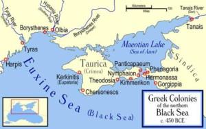 Mappa con indicazione del centro commerciale Tana